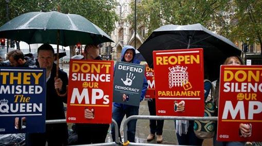 British PM's suspension of parliament unlawful, supreme court rules