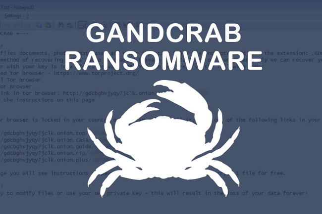 Notorious GandCrab hacker group 'returns from retirement'