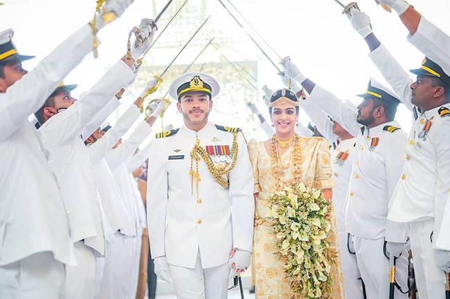 Yoshitha Rajapaksa ties the knot…