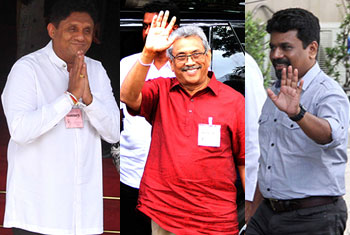Presidential candidates submit nominations...