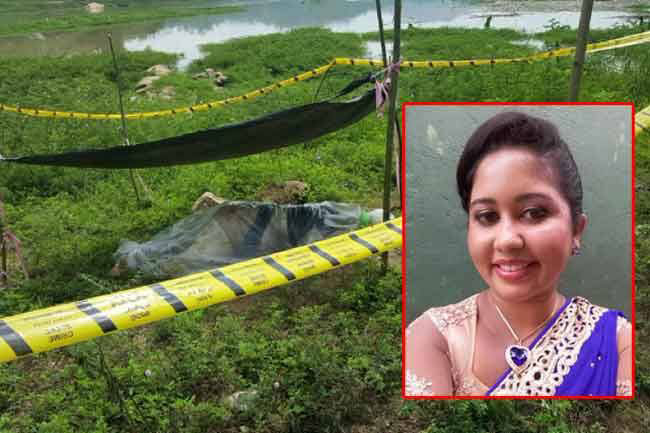 Body of female teacher who went missing in Gampola identified