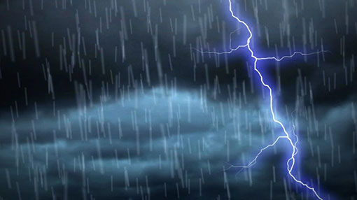 Warning issued for severe lightning