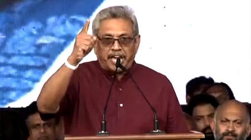 Gotabaya pledges to release imprisoned war heroes by Nov. 17