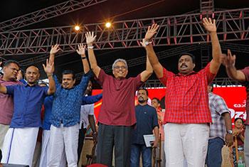 Gotabaya's maiden rally…