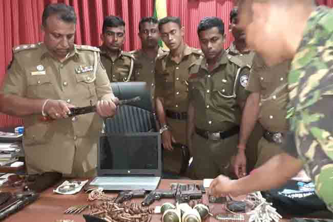 Ex-LTTE cadre, wife & sister arrested with explosives