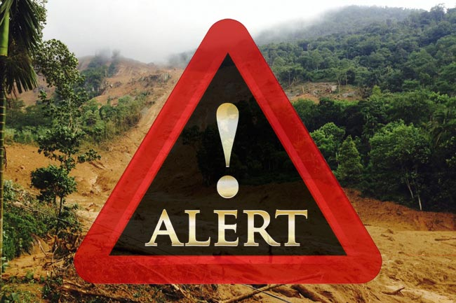 Landslide warnings issued for parts of Badulla