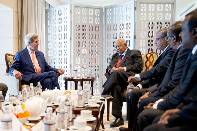 Kerry holds talks TNA, backs justice for Tamils