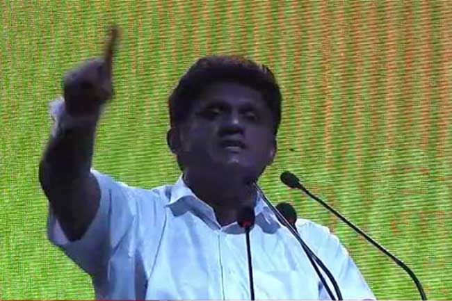 Sajith reiterates strict stance against drug traffickers