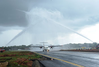 Jaffna International Airport opened...