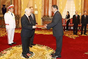 New SL Ambassador to Vietnam...