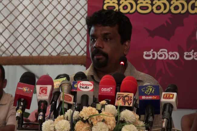Anura vows to build govt. that protects nature