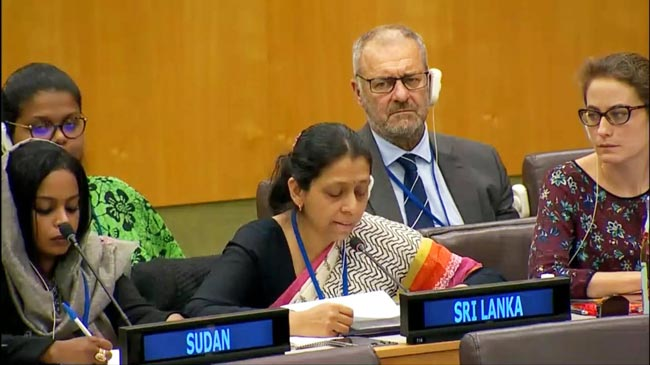 Sri Lanka calls on UN to utilize resources in impartial and transparent manner