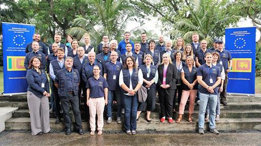 EU observers deployed in Sri Lanka ahead of presidential election