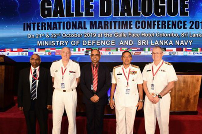 Galle Dialogue 2019 on 'Refining Mindset to Address Transnational Maritime Threats' concludes