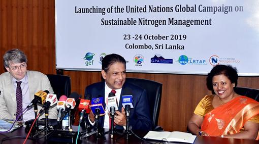 """""""Colombo Declaration"""" calls for tackling global nitrogen challenge"""