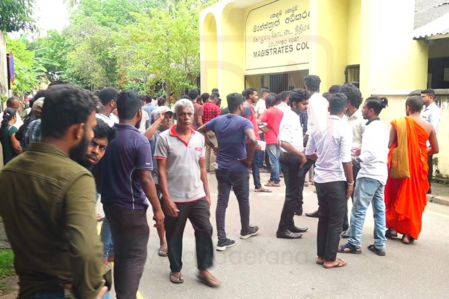 52 Uni students arrested during protest granted bail, one remanded