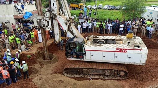 India: Rescue efforts continue to save 2-year-old fallen into abandoned bore well