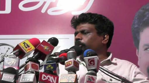 Those planning to vote for Sajith might as well give it to Gotabaya - Anura