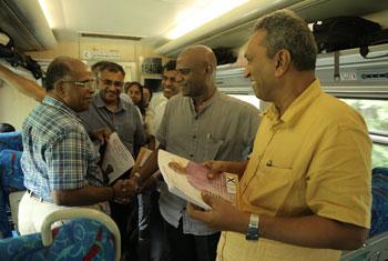 Mahesh takes 'Yal Devi' to Jaffna…