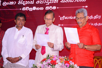 'Sri Lanka Nidahas Podujana Sandhanaya' established…