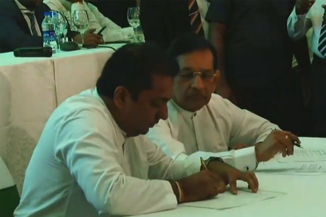 UNP-led new alliance launched ahead of prez poll