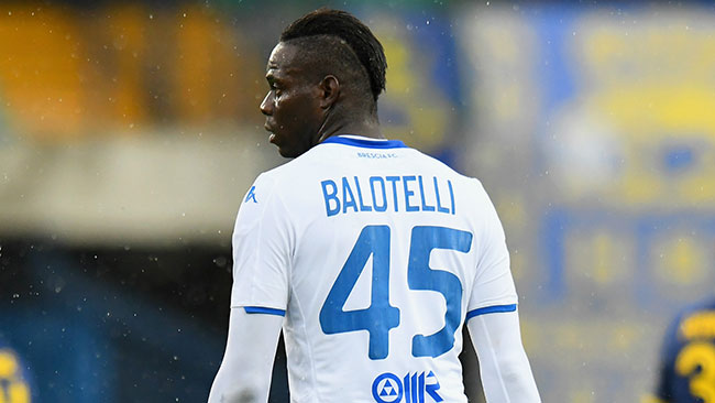 Verona bans head ultra for 11 years after Balotelli abuse