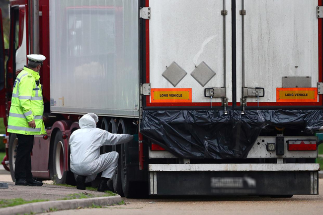UK lorry deaths: Bodies of all 39 victims identified
