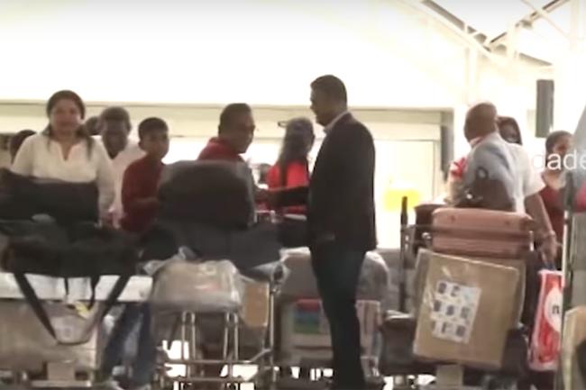 Migrant Sri Lankans return to island to support Gotabaya