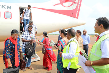 Chennai-Jaffna flight service resumes...