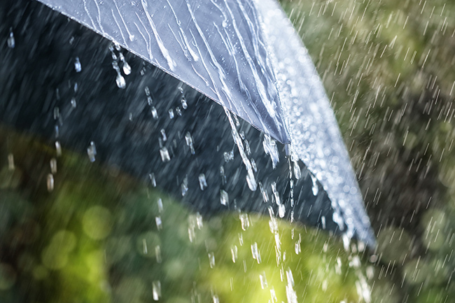 Possible thundershowers after 1pm today