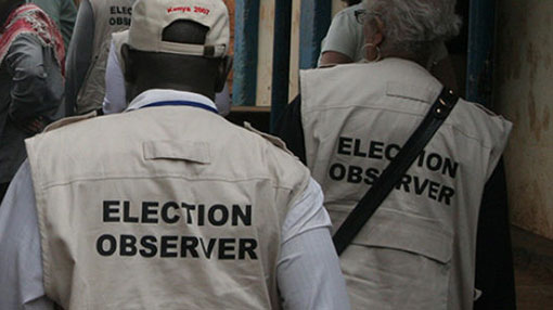 Foreign election observers set to arrive today & tomorrow