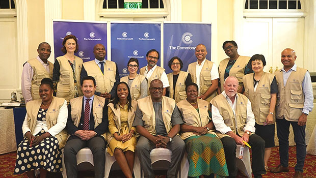 Commonwealth group begins observation of presidential poll