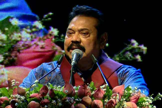 Either Chandrika is crazy or we are - Mahinda