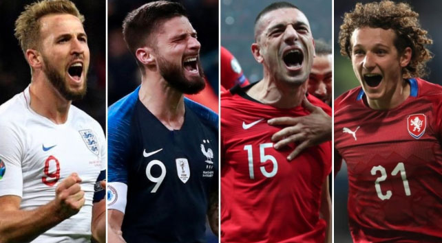 France, England, Turkey and Czech Republic qualify for Euro 2020