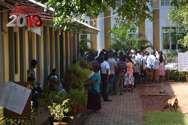 Voter turnout at close of polls