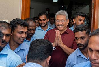 New President of Sri Lanka...