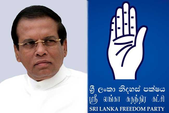 Maithripala Sirisena reappointed as SLFP Chairman