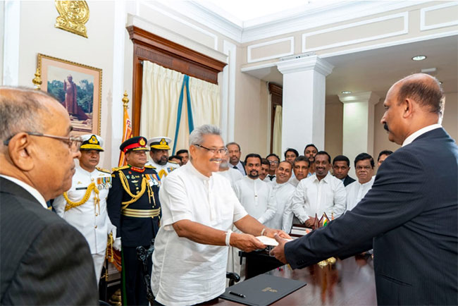 Kamal Gunaratne appointed new Defence Secretary