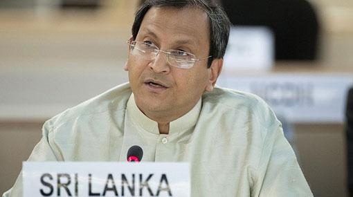 Ravinatha Aryasinha appointed Foreign Secretary