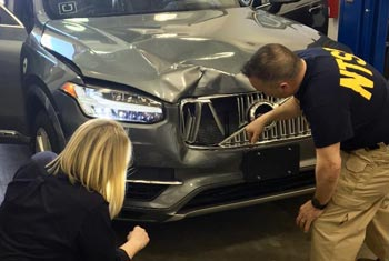 Feds blame distracted test driver in Uber self-driving car death