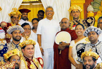 President's inaugural visit to Kandy…