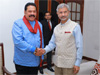 Indian External Affairs Minister calls on Opposition Leader