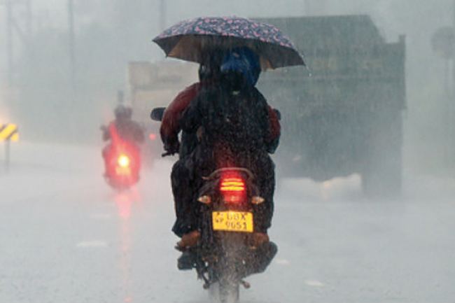 Met. Dept. issues special advisory for heavy rains