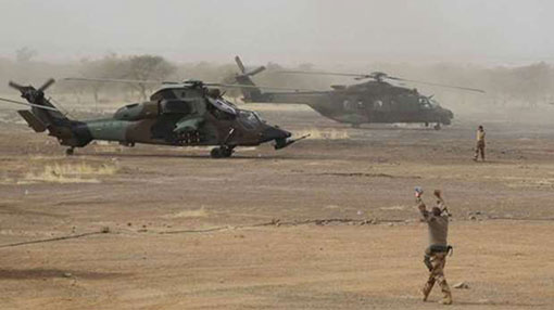 Thirteen French troops killed in Mali operation against militants