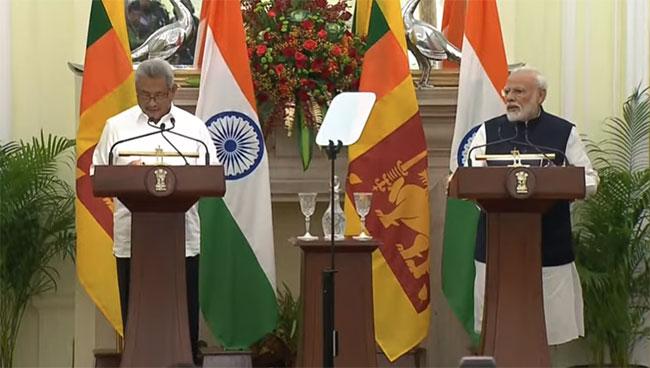 Modi announces $ 450 million line of credit to Sri Lanka