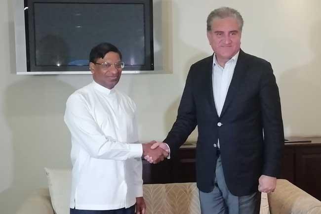 Pakistani Foreign Minister in Sri Lanka