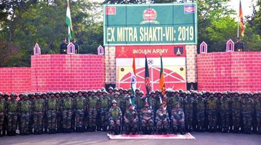 India-Sri Lanka joint military exercise 'Mitra Shakti 2019' begins