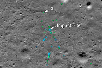 NASA finds Vikram Lander of Chandrayaan-2 on Moon Surface