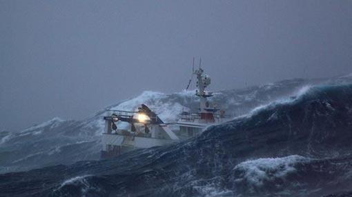 Fishermen cautioned of rough seas