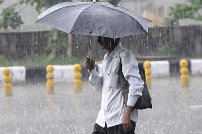 Showery condition to continue; Heavy rain expected in several districts